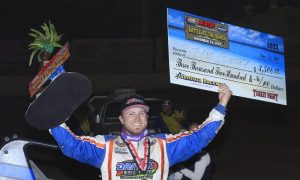 Courtney Rips The Top For Ventura Sprint Win